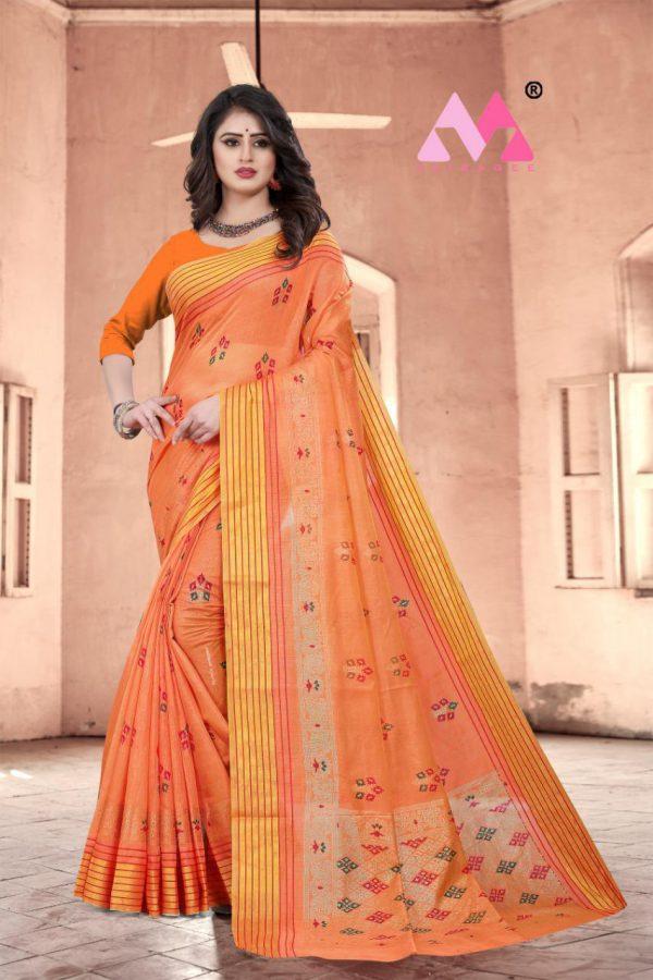Krina Cotton Silk Saree - Krina Cotton Silk Saree 2