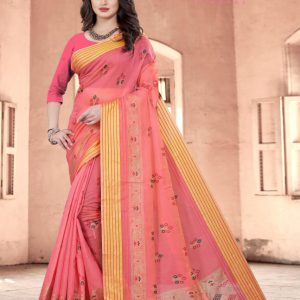 Shop Wide Collection Of Electronics This Fall - Krina Cotton Silk Saree 3
