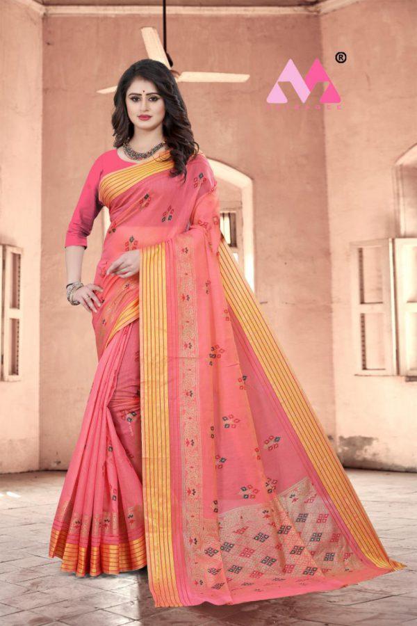 Krina Cotton Silk Saree - Krina Cotton Silk Saree 3