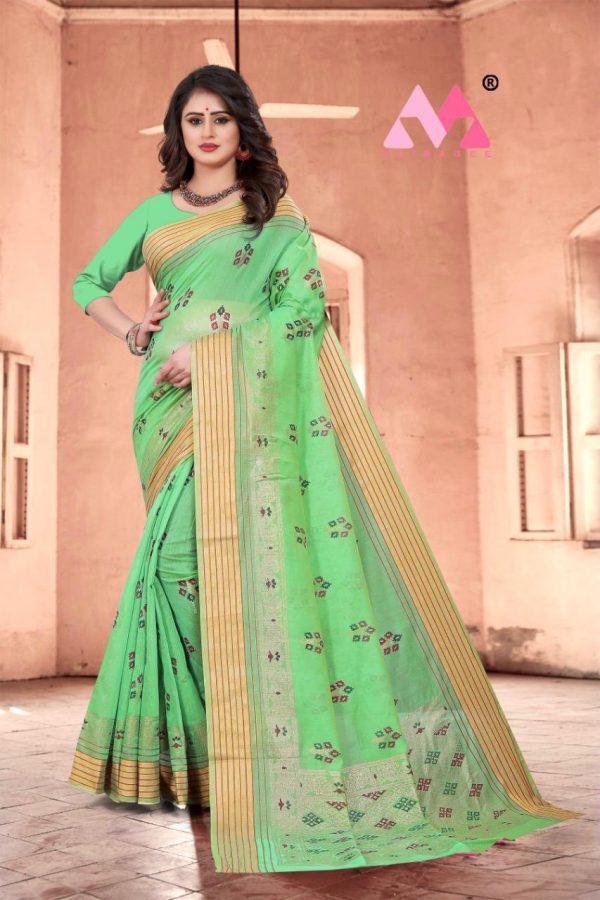 Krina Cotton Silk Saree - Krina Cotton Silk Saree 4
