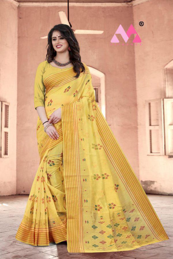 Krina Cotton Silk Saree - Krina Cotton Silk Saree 5