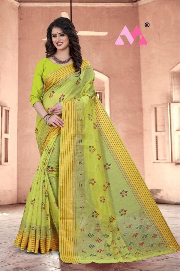 Krina Cotton Silk Saree - Krina Cotton Silk Saree 6